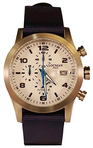LOCMAN watch ISLAND 0618A08-00WHBKNB Men's