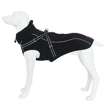 Amazon.com: Petilleur - Chaqueta para perro con arnés para ...