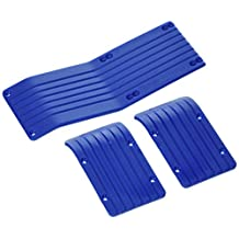 RPM New T/E-Max Skid plate Set, Blue