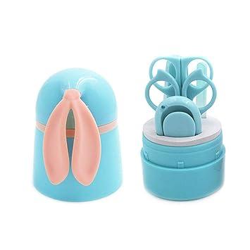 Blau Neugeborene Nagelfeile und Pinzette,Safe Portable f/ür Kinder Kleinkinder,5 in 1 CICADAS Baby Nagelknipser Set mit 2 Sicherheitsschere Nagelknipser