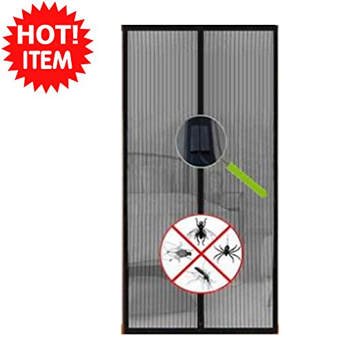Hands free new magic mesh curtain screen net door with magnets anti mosquito bug
