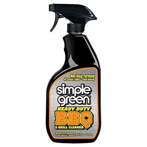 Simple Green 24 oz. Heavy-Duty Non-Aerosol BBQ and Grill Cleaner, Pack of 1 (Vent Cleaning Hood)