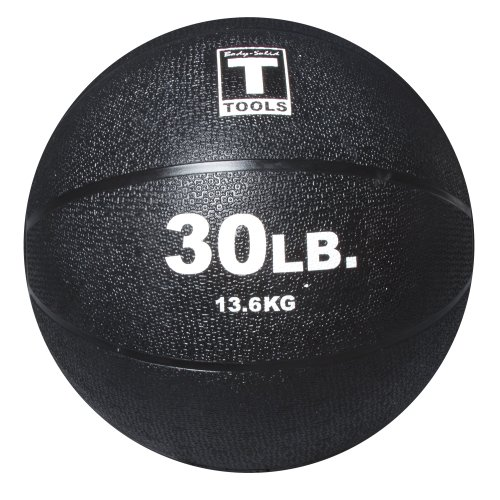 Body Solid Tools BSTMB30 30 lb Black Medicine Ball by Body-Solid