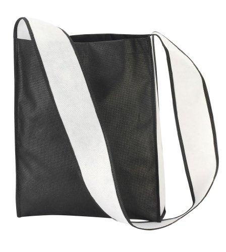 Shugon Unisex Polypropylen Shopping-Schultertasche Nice 1016 Black/White
