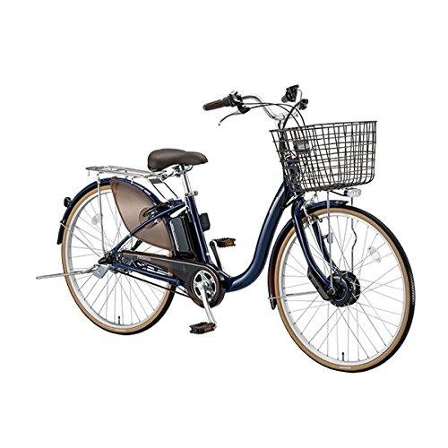 ブリヂストン(BRIDGESTONE) 18年モデル フロンティア F4AB28 24インチ 電動アシスト自転車 専用充電器付 B076SBD34X E.Xノーブルネイビー E.Xノーブルネイビー