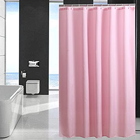 Pink Shower Curtains For Bathroom Extra Long 72quot X 78quot Cloth Curtain