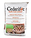 Northeastern Products Cedarific Natural Cedar Chips Cat Litter, 50 Liter Bag