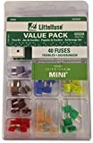 Littelfuse 00940462Z Mini Fuse Assortment - 40 Piece