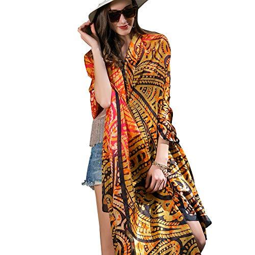 (DANA XU 100% Pure Silk Large Size Women Soft Pashmina Shawls and Wraps (Red) )