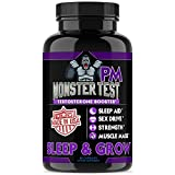 jack black post - Angry Supplements Monster Test PM Testosterone Booster Plus Sleep Aid-Jack T-Levels All Natural Formula, Made in USA, Powerful Ingredients Boost Energy & Performance in the Gym and in the Bedroom.