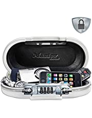 Safe space Combination travel lock box with cable