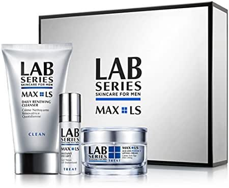Lab Series Max Ls Age-less Power V Lifting Cream for Men, 3 Count