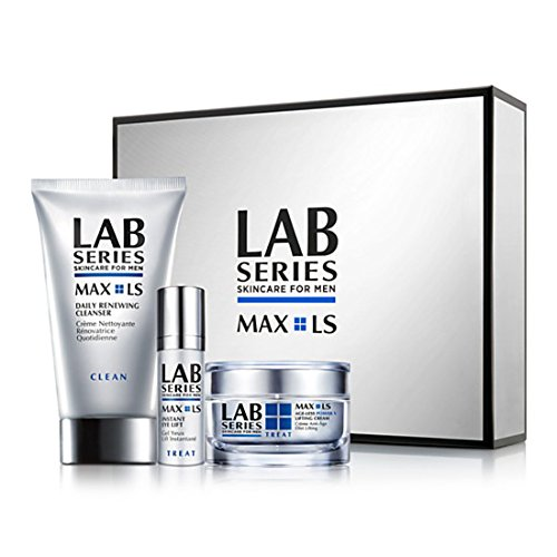 Lab Series Max Ls Age-less Power V Lifting Cream for Men, 3 (Series 3 Trio)