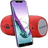 junmo shop Draagbare draadloze BT-luidspreker, stereogeluid SD-kaart FM-luidspreker met FM-radio, Micro SD-kaartsleuf…