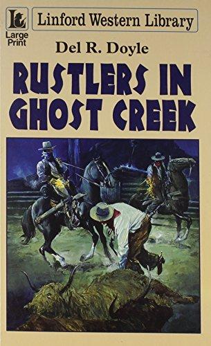 book cover of Rustlers in Ghost Creek