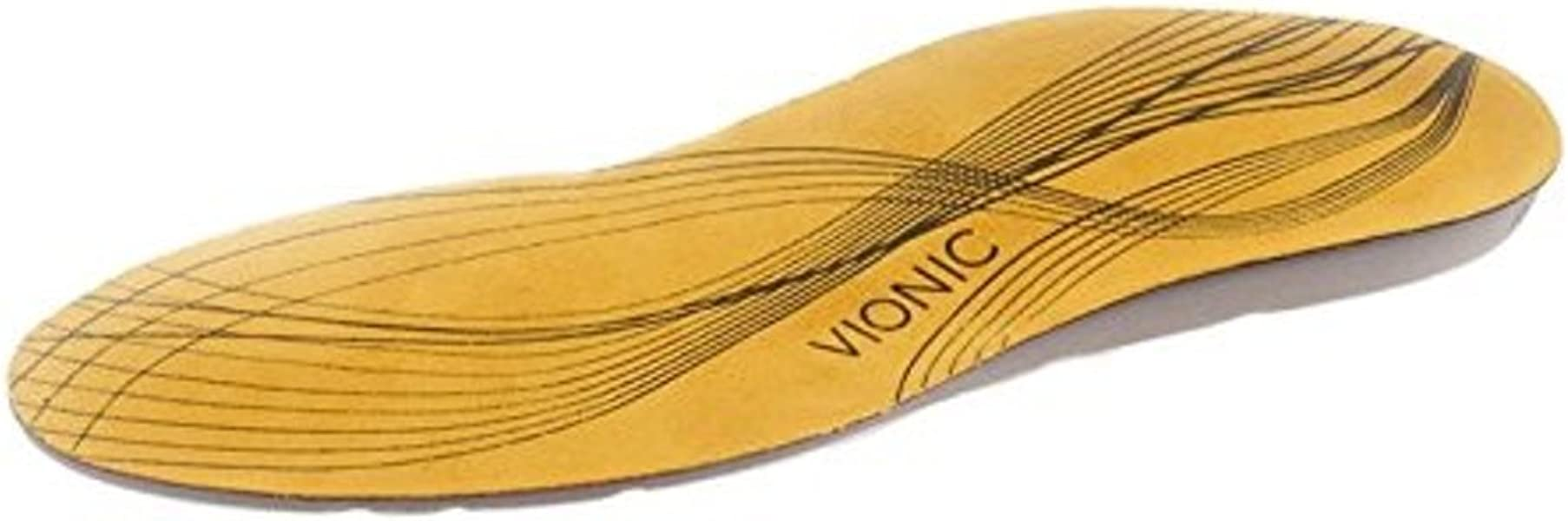 Patented Lateral Cutaway Vionic 3//4 Length Orthotics Takes Up Less Room/…