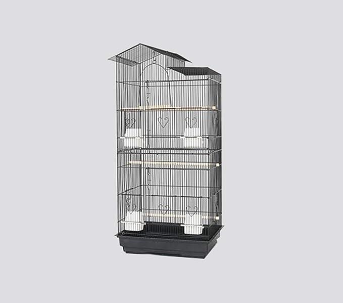 La Maison de l'l'animal - Cajas grandes de ganado, escuela, Pet hospital de observación de pájaros, jaula para habitación de cumpleaños, 46 x 36 x 100 cm