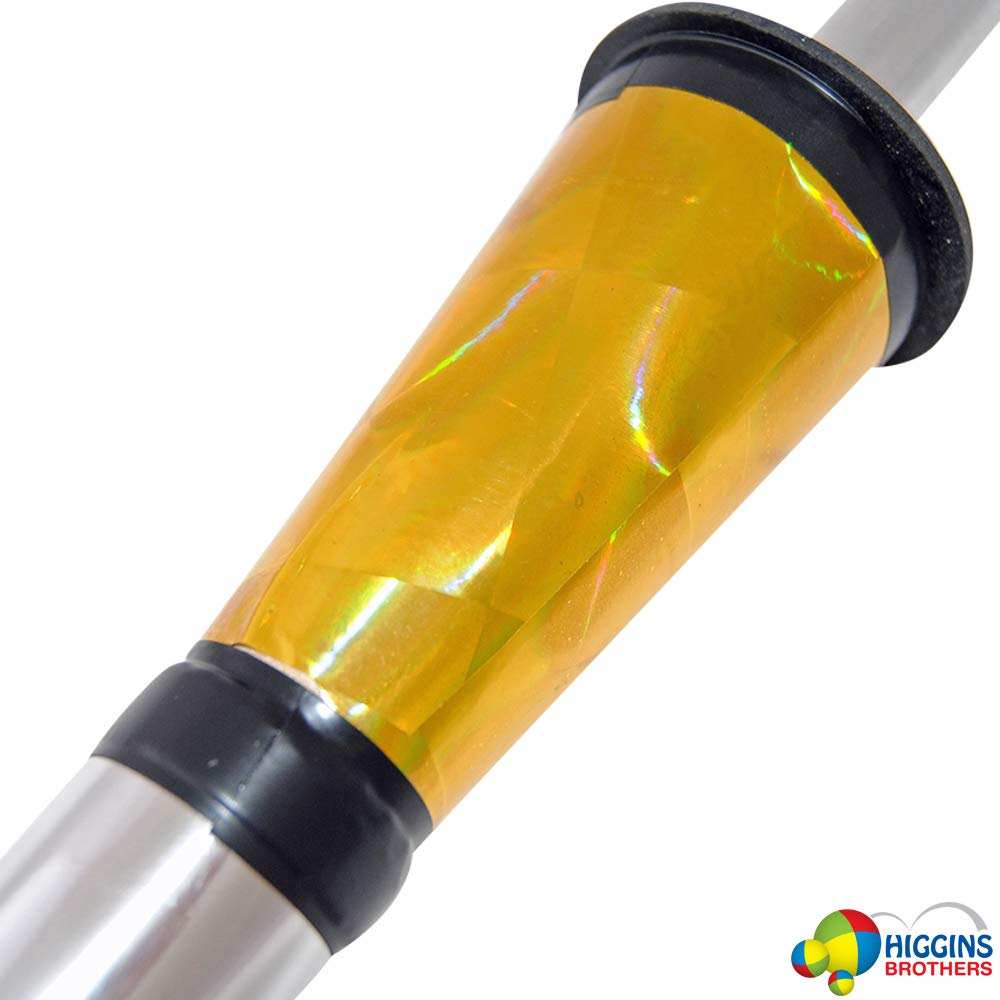 Higgins Brothers Juggling Torches Set of 3 Prodigy Torch (Gold) by Higgins Brothers (Image #2)