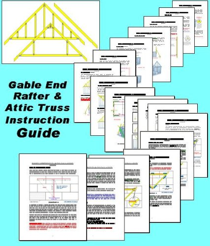 Easy Cabin Designs 16x20 Cabin w/loft Plans Package, Blueprints & Material  List