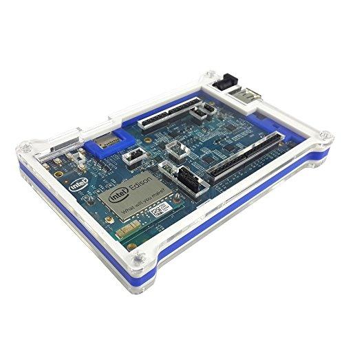 Price comparison product image Eleduino Transparent Cover Box Enclosure for Intel Edison Development Board