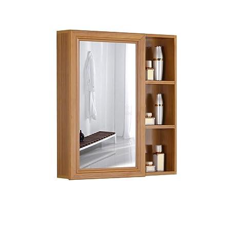 Specchio Bagno Mobile.Bagno Mobile Armadietto Di Immagazzinaggio A Parete Con Specchio E