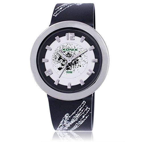 Girl's cartoon colorful fashion analog quartz watch, Cute pointer 50 m waterproof round dial children wristwatch-L by CDKIHDHFSHSDH