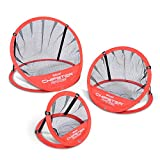 GoSports CHIPSTER Range - 3 Piece Golf Chipping Practice Net Target System with Carrying Case