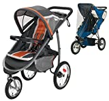 Graco FastAction Fold Jogger Click Connect Stroller with Weather Shield