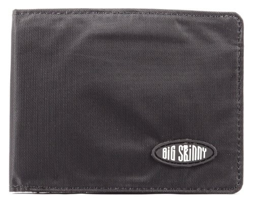 old Passcase Slim Wallet, Holds Up to 30 Cards, Black ()
