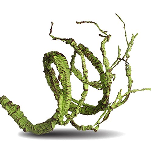 Flexible Bend-A-Branch Jungle Vines Pet Habitat Decor for Lizard ,Frogs, Snakes and More Reptiles (Fat)