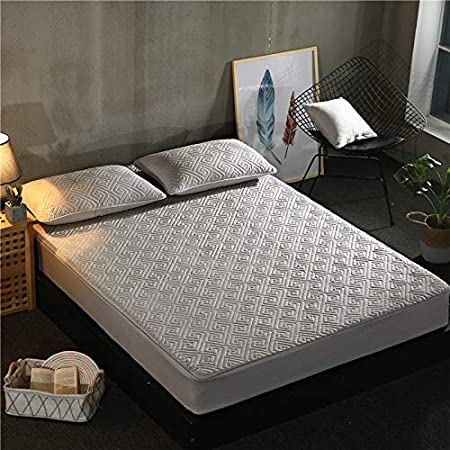 SUYUN - Funda de colchón Impermeable antialérgico, 100 x 190 cm ...