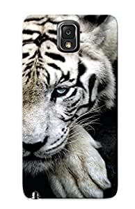 Podiumjiwrp Galaxy Note 3 Well-designed Hard Case Cover White Tiger Protector For New Year's Gift by lolosakes