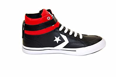 e190f74e712e Converse Junior Pro Blaze Strap Sneakers Casino Black Size UK 13