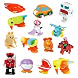 Ymiss 14pcs Wind Up Assorted Toys for Kids and Adults