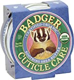 Badger - Certified Organic Cuticle Care- Soothing Shea Butter - .75 oz. - 1 Pack