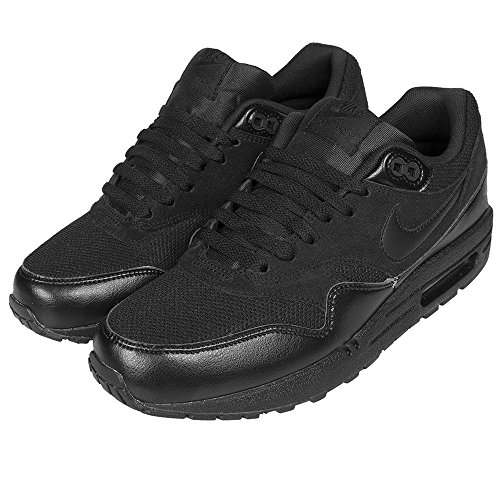 Nike Air Max 1 - Zapatillas de Material Sintético para hombre Negro negro