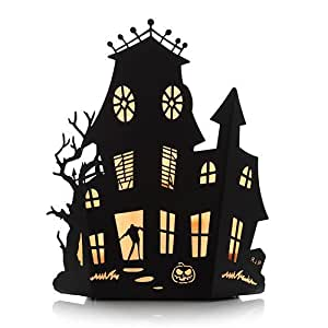 yankee candle halloween silhouettes haunted. Black Bedroom Furniture Sets. Home Design Ideas