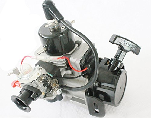 TOP_RC New 26cc 2-Stroke RC Petrol Marine Gas Pull Start Engine for Racing Boat