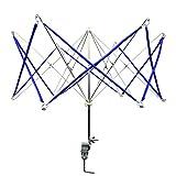 DYWISHKEY Umbrella Yarn Swift Yarn Winder - Hand Operated Knitting Winder Tools, Wool String Winder Holder Machine, Metal Hank Yarn Winder