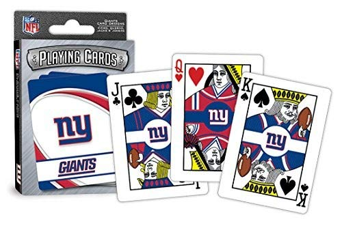 - MasterPieces NFL New York Giants Playing Cards