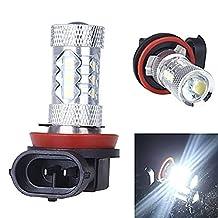 KATUR 2Pcs 80W H11 Osram LED Car Fog Light Lamp Bulb Vehicle LED Lighting