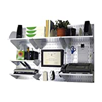 Wall Control 10-OFC-300 WB Office Wall Mount Desk Storage and Organization Kit