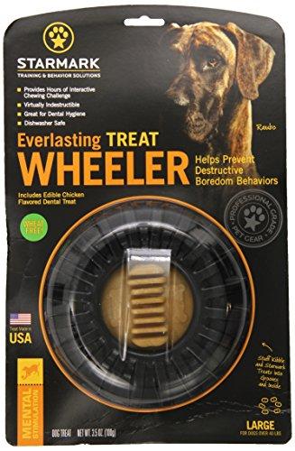 StarMark Everlasting Treat Wheeler Large ()