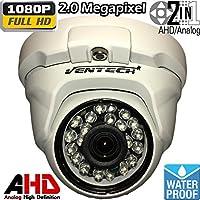 Ventech Hybrid HD 2.0MP 1080P AHD / 960H Dome Security Camera Outdoor 3.6mm Lens 24 IR LEDs ICR Auto Day Night Video Surveillance (Default 1080P Mode) CAMAHD