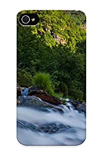 Stylishgojkqt 4cea1d72849 Case Cover Iphone 4/4s Protective Case Water Flowing( Best Gift For Friends)