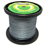 1000m Fishing PE Line Super Braids Braided Line Grey