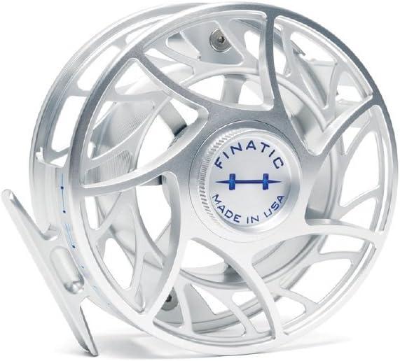 ハッチングOutdoors Finatic 11 Plus Fly Fishing Reel CLEAR/青 LARGE ARBOR
