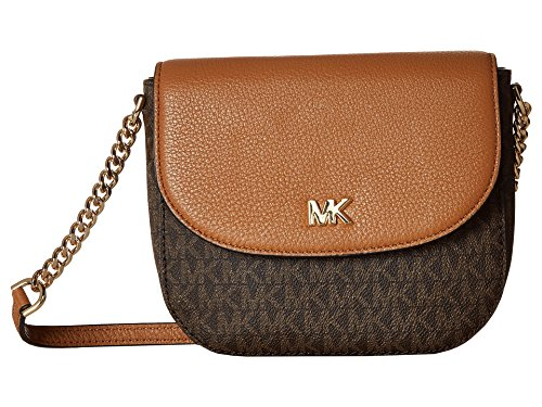 MICHAEL Michael Kors Half Dome Crossbody (Brown/Acorn)