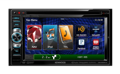 Click to buy Kenwood DNX-691HD Excelon Double-DIN Navigation/DVD Receiver with Built-In Bluetooth - From only $1195.64