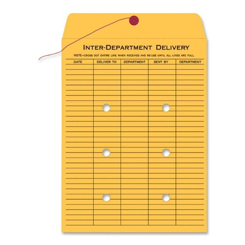 Quality Park Interdepartmental Envelopes, 10 x 15 inches (QUA63564) by Quality Park
